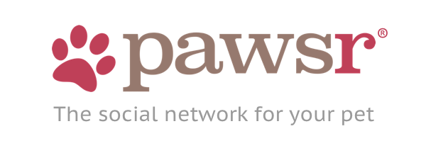 Official pawsr logo with tagline